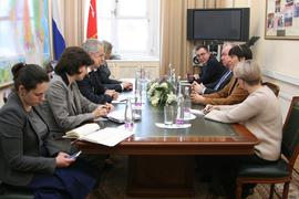 Official meeting with the St. Petersburg authorities - Official meeting with the St. Petersburg authorities